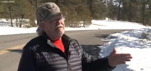 Man Finds Bigfoot Tracks In Medical Lake, Washington