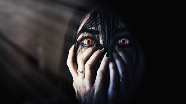Evil entity eye to eye