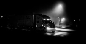 Trucker Gets Terrified From Roadside Freak Show At Night