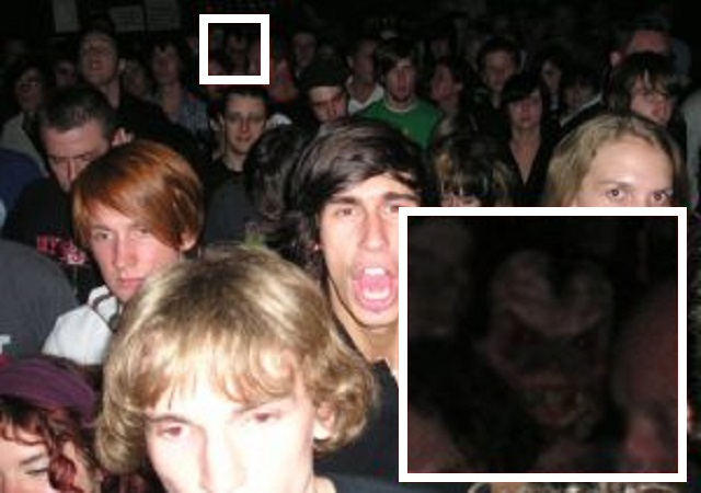 Demon In The Crowd