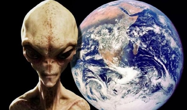 Aliens spying on Earth