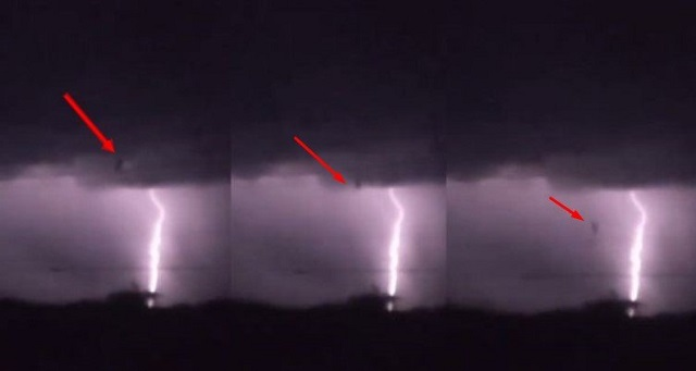 Mysterious Object Falls From The Sky During Texas Lighting Storm