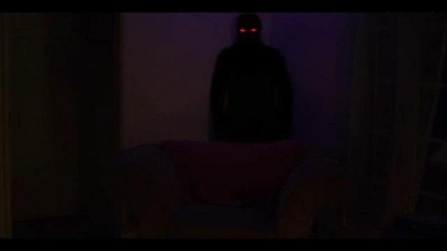 Shadow demon at night