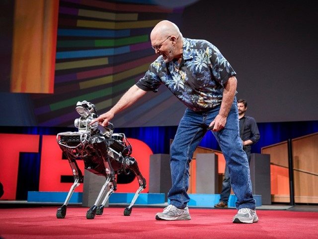 Spot robot Boston Dynamics