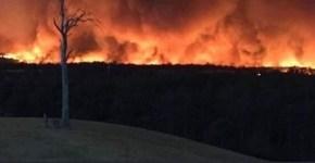 Craig Calvert Gippsland fires near Sarsfield