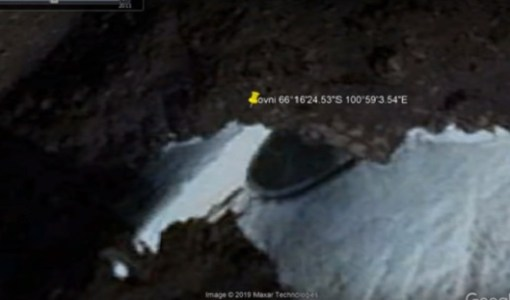 Google Earth User Discovered Mysterious Disc-Shaped Object In Antarctica