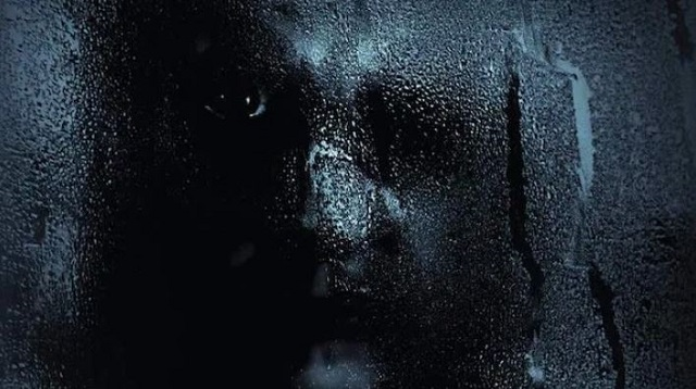Demonic face in the window