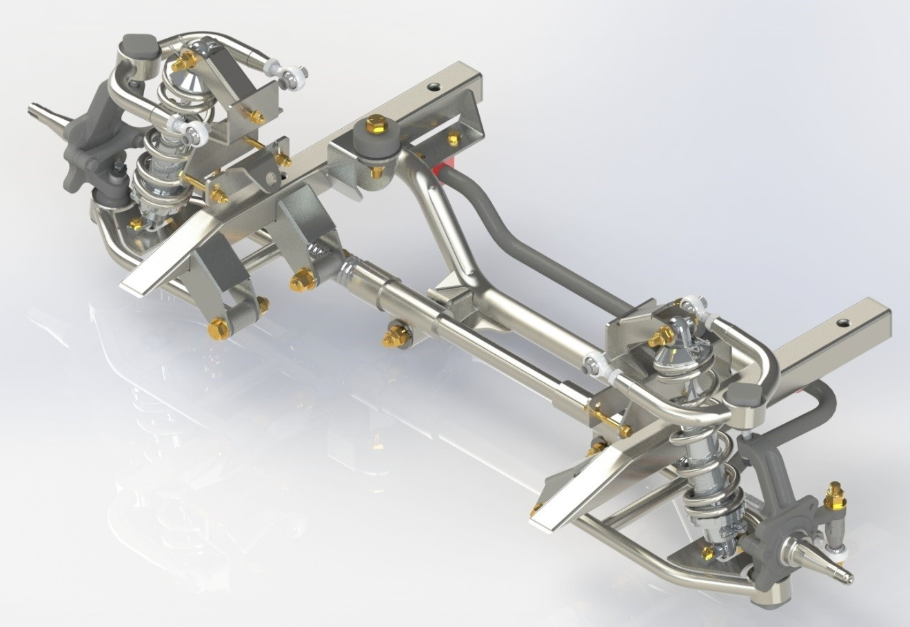 25 Independent Front Scale 1 Suspension