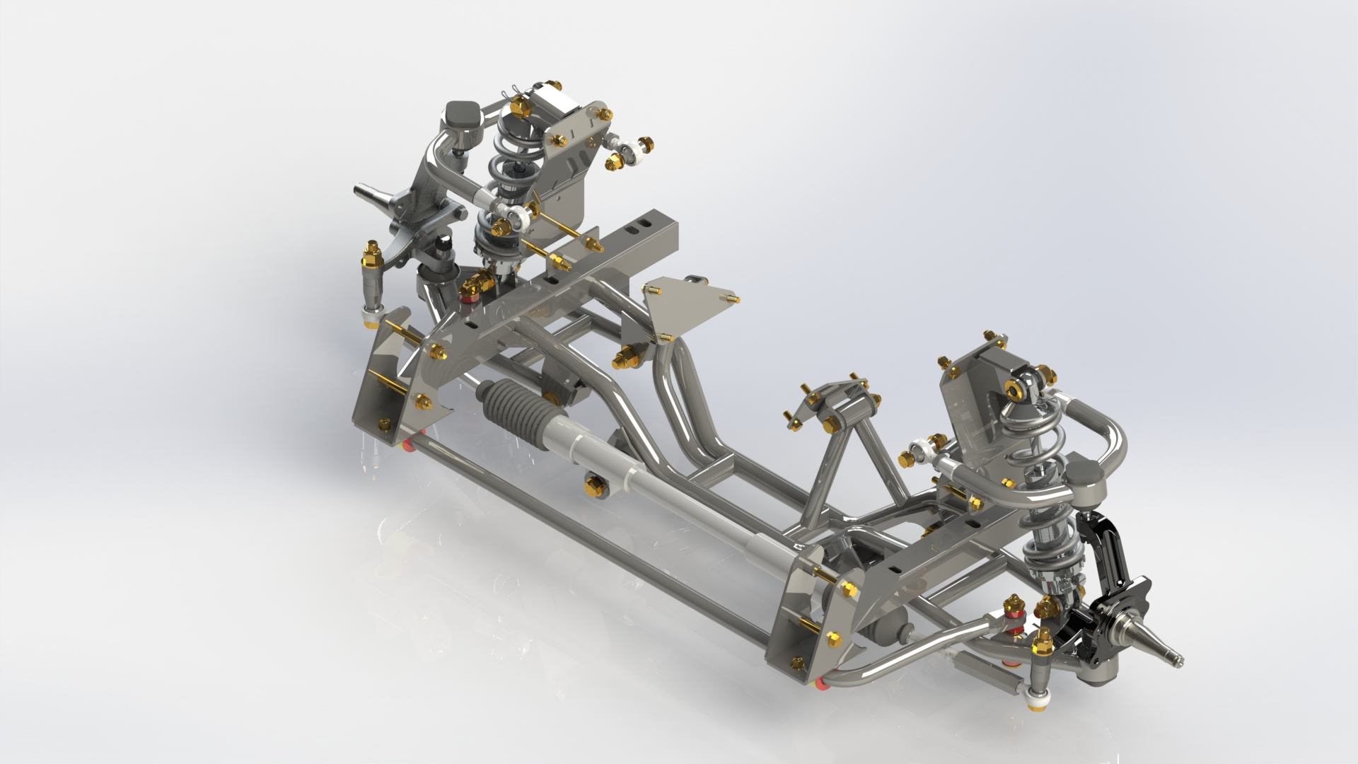 hight resolution of our independent front suspension