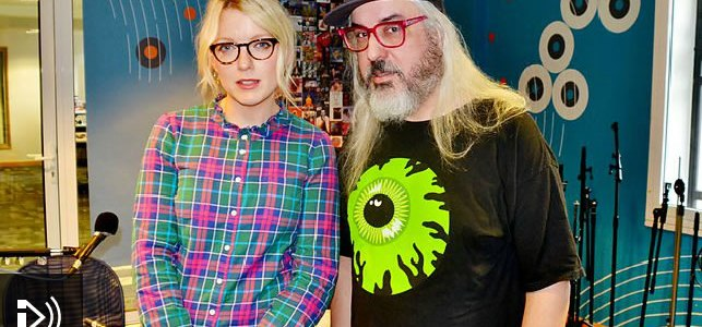 Lauren Laverne and J Mascis BBC6 - 1-8-2015