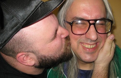J Mascis and Damian Abraham