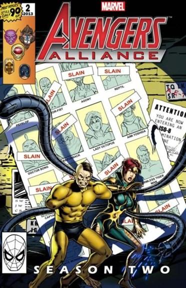 Avengers Alliance Promotional Artwork
