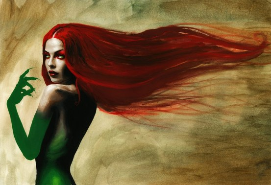 Poison Ivy by Menton3
