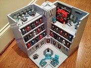 Stark Industries Armory - Iron Man Hall of Armor LEGO