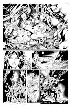 Page 2 from Dynamite's Warlord of Mars #0