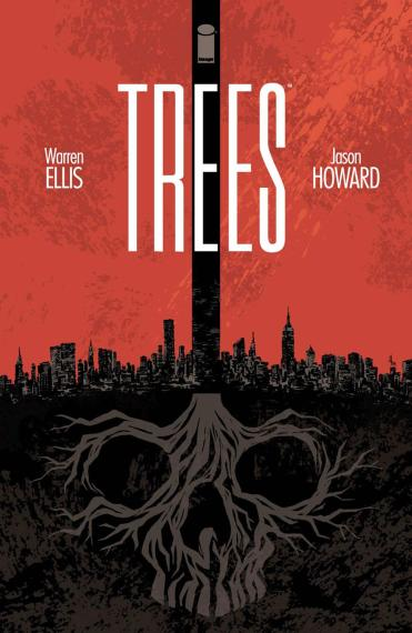 Cover Art for Image Comics' Trees #1