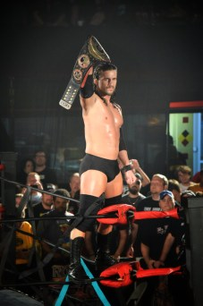 Adam Cole went into BITW as the ROH Champion