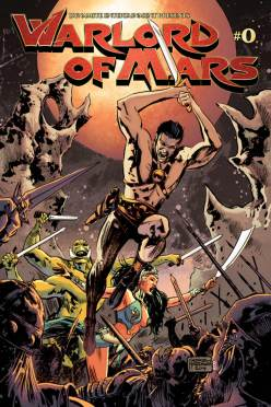Cover to Warlord of Mars #0