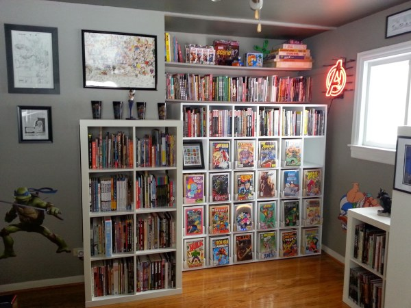 Comic Book Display Room