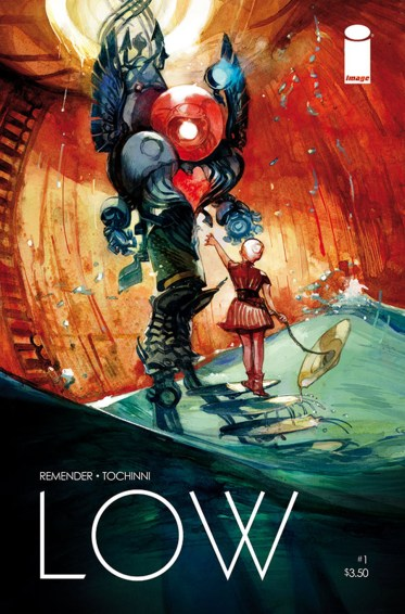 Cover Art from Image Comics' Low #1