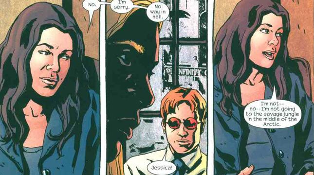 Jessica Jones and Matt Murdock  Freaksugar