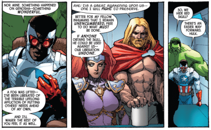 Avengers and X-Men: Axis #4