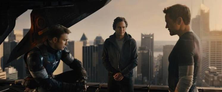 Cap, Bruce, and Tony