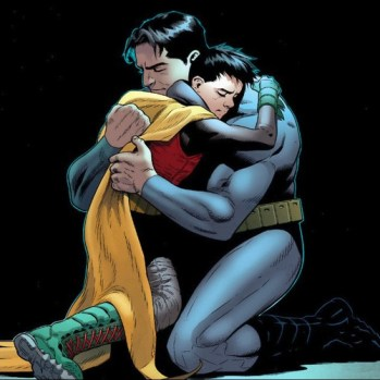 Damian and Bruce