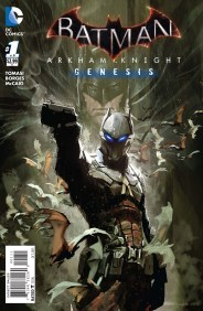 BATMAN: ARKHAM KNIGHT - GENESIS #1 Cover