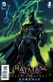 BATMAN: ARKHAM KNIGHT - GENESIS #1 Variant Cover