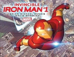 INVINCIBLE IRON MAN #1 cover
