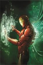 INVINCIBLE IRON MAN #1 Pichelli variant cover