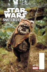 JOURNEY TO STAR WARS: THE FORCE AWAKENS - SHATTERED EMPIRE #1 Movie variant cover