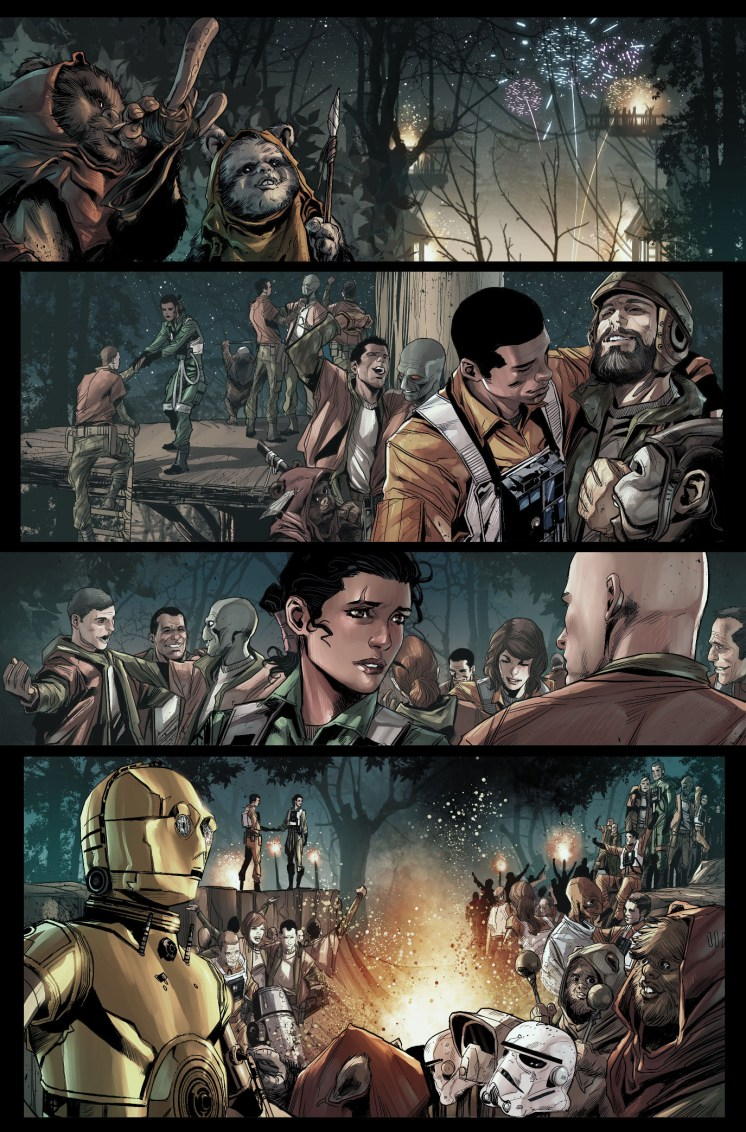 JOURNEY TO STAR WARS: THE FORCE AWAKENS - SHATTERED EMPIRE #1 page 3