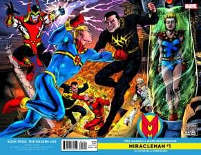 MIRACLEMAN BY GAIMAN & BUCKINGHAM #1 cover Jam variant