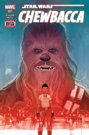 CHEWBACCA #1 cover