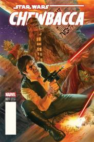 CHEWBACCA #1 Alex Ross variant cover