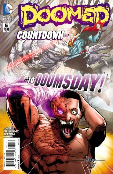DOOMED #5 cover