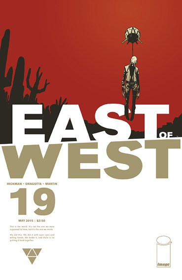 Cover Art for East of West
