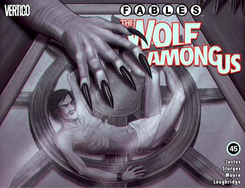 FABLES: THE WOLF AMONG US cover