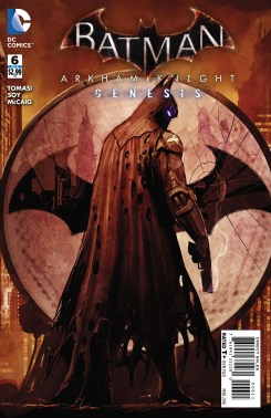 BATMAN: ARKHAM KNIGHT - GENESIS #6 cover