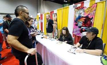 Jimmy Palmiotti & Amanda Conner at MegaCon Orlando 2017