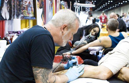 Tattoo Alley at MegaCon Orlando 2017