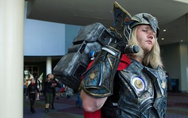 Thor CosPlayer at MegaCon Orlando 2017