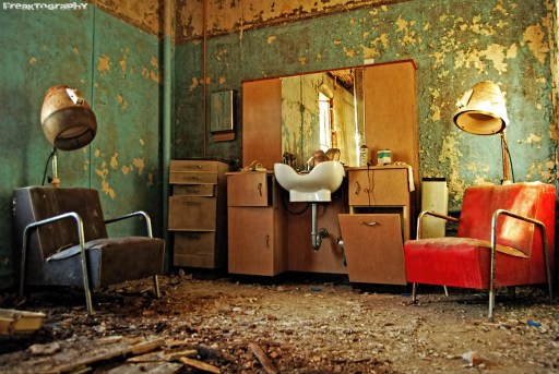 Abandoned Asylum Salon