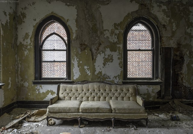 Abandoned Buffalo Church