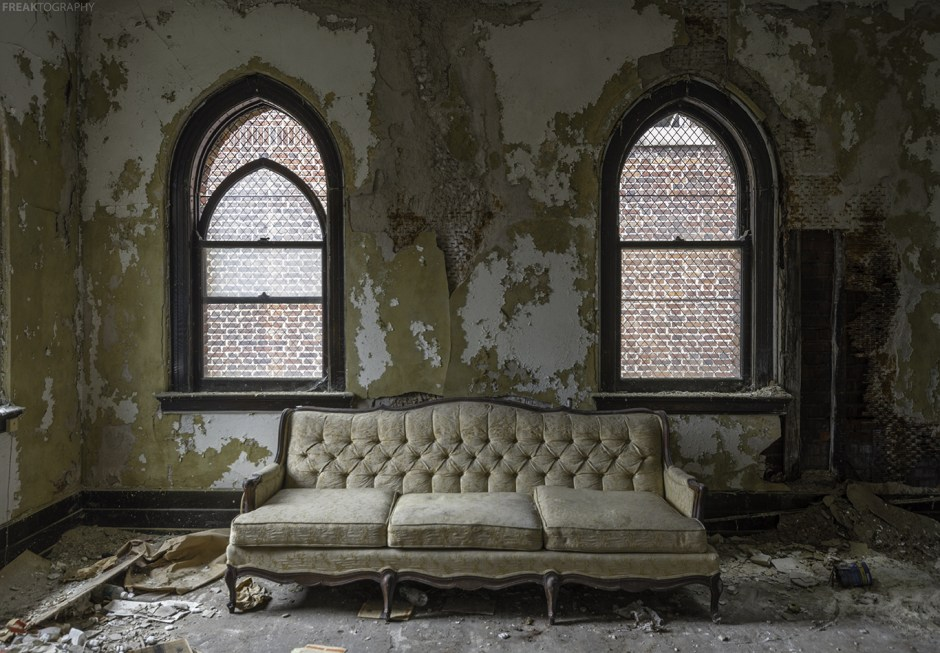 Abandoned Buffalo Church