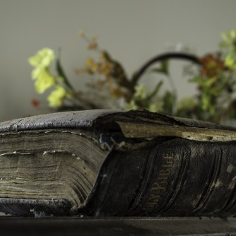 Bible in Abandoned Ontario Church