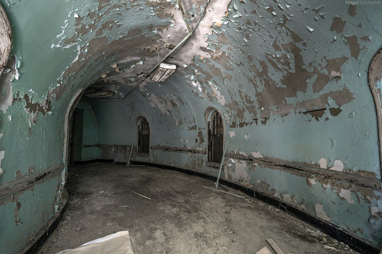 Abandoned Kirkbride Hospital