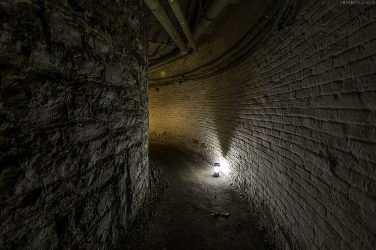Dark Basement Tunnels Buffalo State Asylum